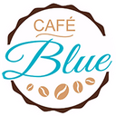 Café Blue Burger background
