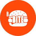 Burguer Bite background
