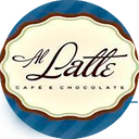 Al Latte Cafe e Chocolate background