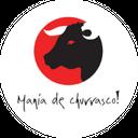 Mania de Churrasco Burger background