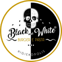 Black And White Burger & Bar background