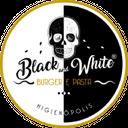 Black And White Burger & Bar background
