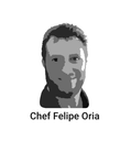 Chef Felipe Oria  background
