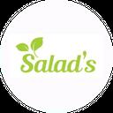 Salads background