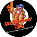 Dog Burguer Love  background