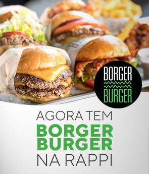 Banner Lançamento Borger Burger