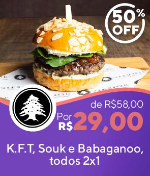Combo Souk Burger, 24.90
