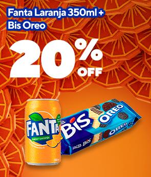 [BRANDS] Fanta Laranja & Bis 20% OFF Product id: 2093976221