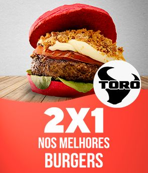 2 por 1 Toro burger