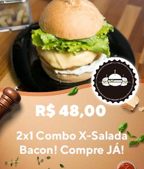 Mais Burguinho - RappiPromo 2x1 Combo X-Salada