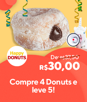 Happy Donuts Compre 4 leve 5